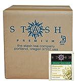 Stash Tea Organic Herbal Tea Bags in Foil, Chamomile, 100 Count (packaging may vary)