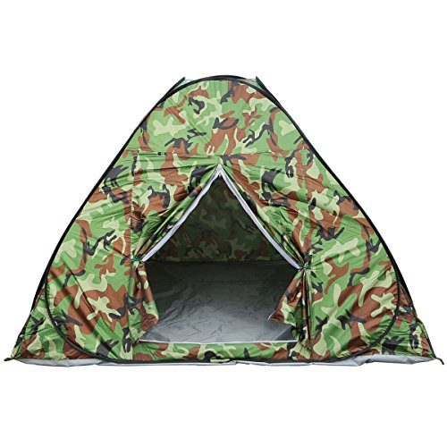 XMT-MOTO Waterproof 3-4 People Automatic Instant Pop Up Tent Camouflge Camping Hiking by XMT-MOTO