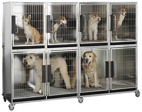 High Modular Dog Kennel (Proselect Mod Kennel Cage for Pets, 6-Unit)