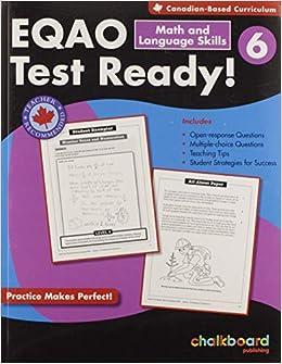 EQAO Test Ready Math and Language Skills 6: David MacDonald