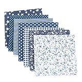 Chris.W 35Pcs Quilting Fabric Squares