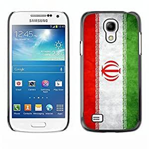 Shell-Star ( National Flag Series-Iran ) Snap On Hard Protective Case For Samsung Galaxy S4 MINI / i9190 / i9192