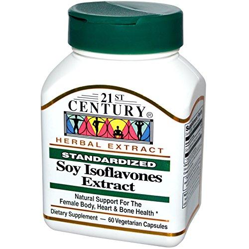 21st Century, Soy Isoflavones Extract, Standardized, 60 Veggie Caps - ()
