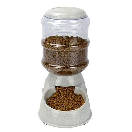 Yying Sistema automático del dispensador del Agua del alimentador del alimento para Animales 3.8L,