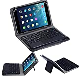 hp touchpad tablet cases - Wireless Bluetooth Keyboard Aobiny Touchpad Keyboard for All 7 inch Android Tablet + Case