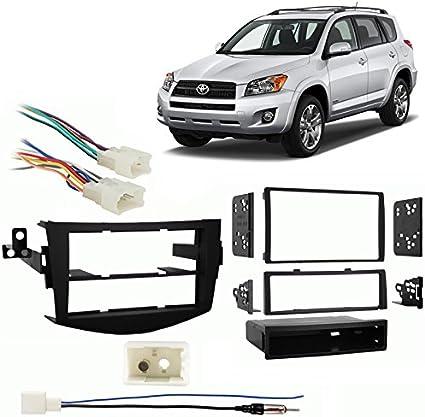 Fits Toyota Corolla 2012-2013 Double DIN Harness Radio Install Dash Kit
