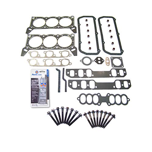 Head Gasket Set Bolt Kit Fits: 89-93 Ford Taurus Lincoln Mercury Sable 3.8L OHV