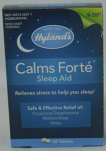 calms forte sleep aid tablets