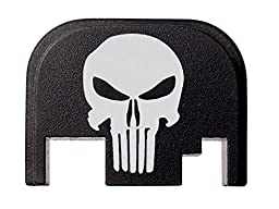 Fixxxer Tactical Skull Design Rear Cover Plate for Glock, Fits Most Glock Models