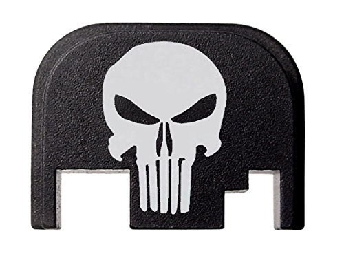 Fixxxer Rear Cover Plate for Glock, fits most Glock models. (GLOCK, Tactical Skull)