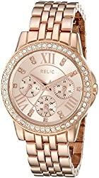 Relic Women's ZR15755 Layla Rose Gold Watch