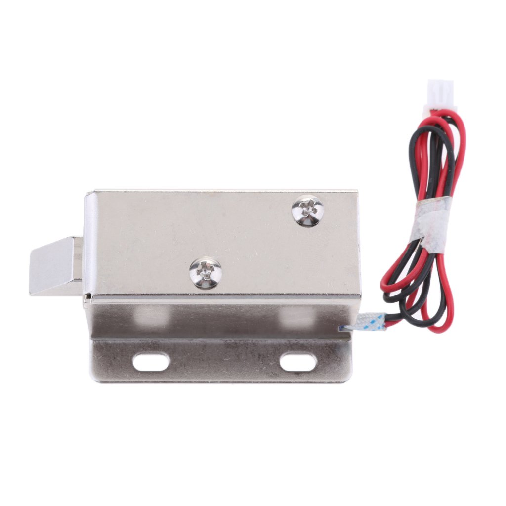 MagiDeal Electric Lock 6V 1.5A Door Access Control Cabinet Gate Locker Security Replacement