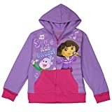 Dora the Explorer Little Girls Zip Hoodie