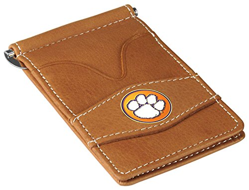 NCAA Clemson Tigers - Players Wallet - Tan