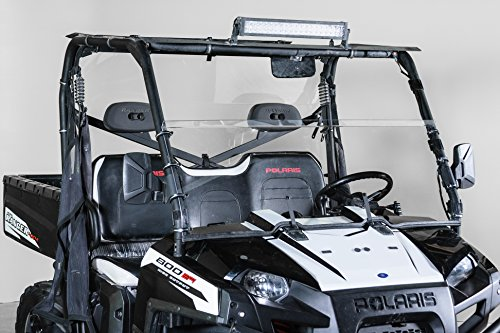 2009 Polaris Ranger Accessories - Polaris Ranger XP Half UTV Windshield 3/16