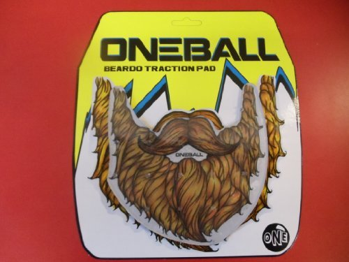 "One Ball Jay Big Beardo Stomp Pad traction Oneballjay 6"" X 6"""