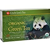Uncle Lee s Legends of China Organic Green Tea - 100 Tea Bags - 100% Organic - Full of health promoting antioxidants