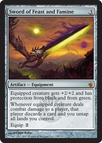 (Sword of Feast and Famine)