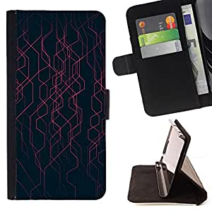 Jordan Colourful Shop - black stripes energy tech For Apple Iphone 6 - Leather Case Absorci???¡¯???€????€??????????