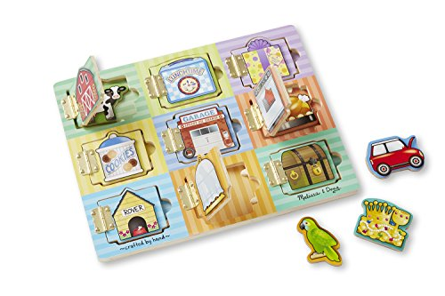 melissa-doug-hide-and-seek-wooden-activity-board-with-wooden-magnets