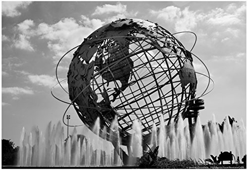 Unisphere at World's Fair Site Queens NY Poster 19 x 13in with Poster - Image Ny Flushing