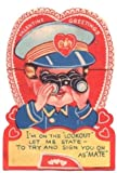 """Vintage Valentine: I'm On The """"Lookout"""" Let Me State - To Try And Sign You On As """"Mate"""" (Valentine Greetings)"""
