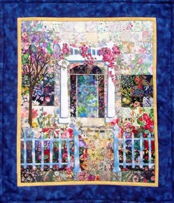 Whims Victorian Estate Watercolor Quilt Kit - Quilt Supplies