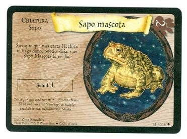 Amazon.com: Harry Potter Trading Card Game #61 2001 Spanish ...