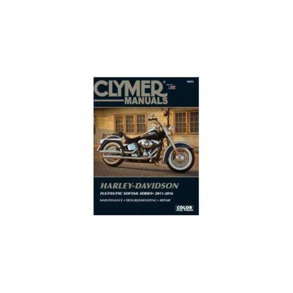Amazon.com: Clymer Harley-Davidson FLST-FXST Softails 11-16 Manual:  Automotive