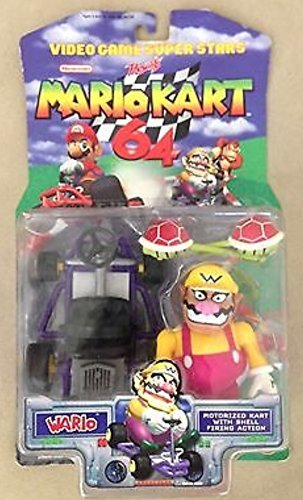 Nintendo Video Game Super Stars Mario Kart 64 Action Figu...