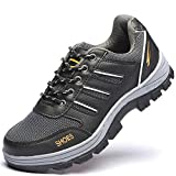 Product review for Eclimb Women's Steel Toe Safety Work Shoes Slip Resistant Protect Shoes