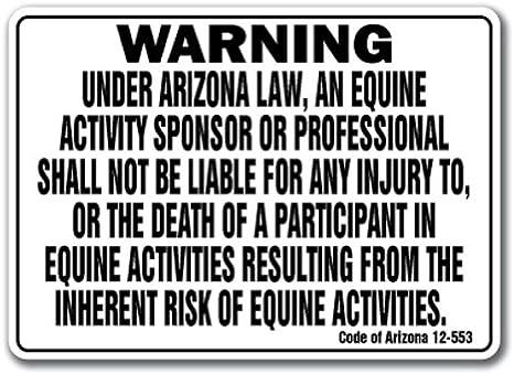 OHIO Equine Sign activity liability warning statute horse farm barn stable