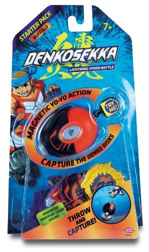 Denko Sekka Buffalo Starter Pack - (1) Buffalo Catcher and (4) Coins