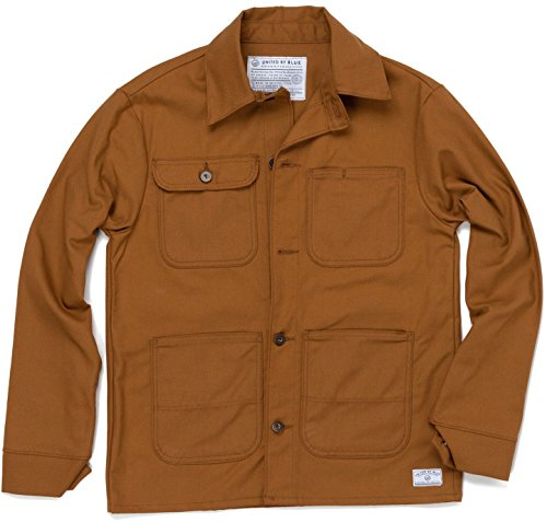 United By Blue Foraker Canvas Coat - Men's Tan Medium by United By Blue