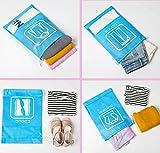 10 Pcs Travel Shoe Bags Pouch Dust-proof Drawstring