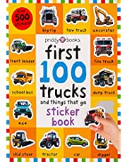 First 100 Stickers: Trucks and Things That Go: Sticker book, with Over 500 stickers