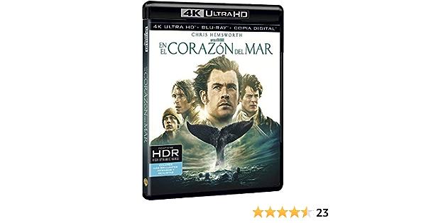 En El Corazón Del Mar 4k Uhd [Blu-ray]: Amazon.es: Chris ...
