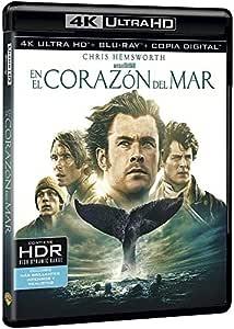 En El Corazón Del Mar 4k Uhd [Blu-ray]