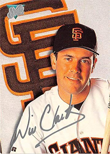 Will Clark baseball card (San Francisco Giants) 1992 Leaf #48 Laser Signature Edition