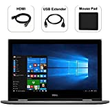 Dell Inspiron i5 2-in-1 Quad-Core Premium Laptop 2018, FHD IPS 15.6 Touchscreen, Intel 8th Gen i5-8250U (Beat i7-7500U), DDR4, Backlit Keyboard, WIFI, Webcam, Bonus Combo (8GB, 1TB HDD)