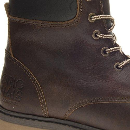 JACK & JONES  Jj Nelson Boot, Herren Sneaker Braun Marrone
