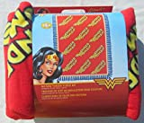 Wonder Woman No Sew Fleece Throw Kit - DC Comics