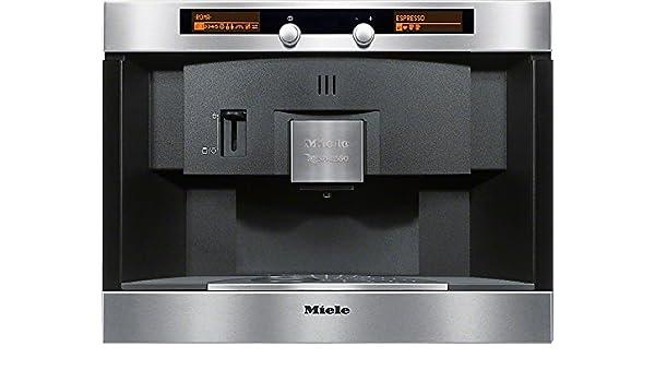 Miele CVA 2650 Integrado Totalmente automática Máquina espresso 1.5L Negro, Acero inoxidable - Cafetera (Integrado, Máquina espresso, 1,5 L, Cápsula de café, 2300 W, Negro, Acero inoxidable): Amazon.es: Hogar