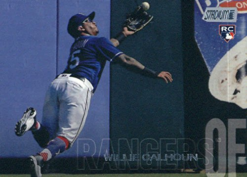 2018 Topps Stadium Club #263 Willie Calhoun RC Rookie Texas Rangers MLB Trading Card