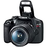 Camera Canon T7 Ef-S 18-55 F/3.5-5.6 Is Ii Br, Canon, T7 EF-S 18-55 f/3.5-5.6 IS II BR, Preto, 23 x 14 x 17 cm