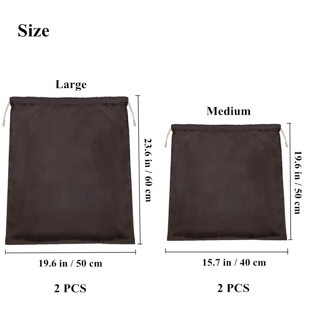 Amazon.com: futisky bolsas de polvo para bolsos, a prueba de ...