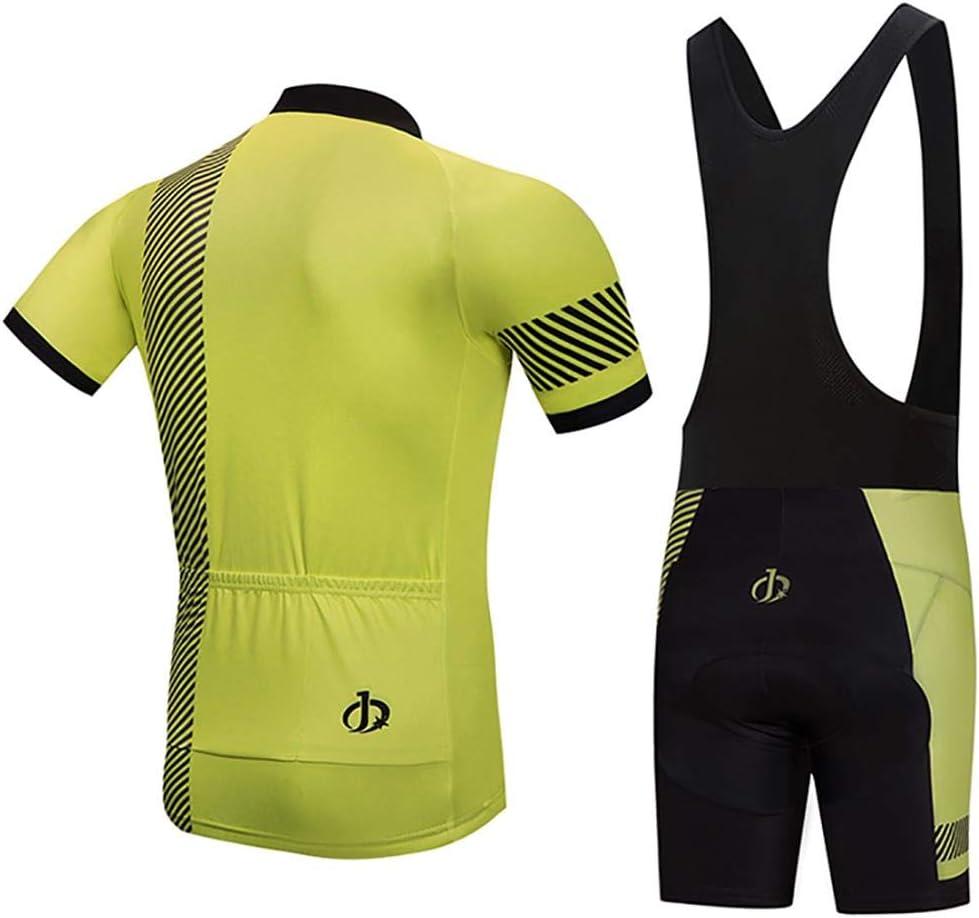 Mountain Bike//MTB Shirt Jerseys de Ciclismo Transpirable y Que Absorbe El Sudor Camiseta Corta Top de Ciclismo Secado R/ápido Ropa de Ciclismo Moxilyn Camisetas de Ciclismo para Hombre