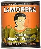 La Morena Whole Jalapeno, 28.2 oz