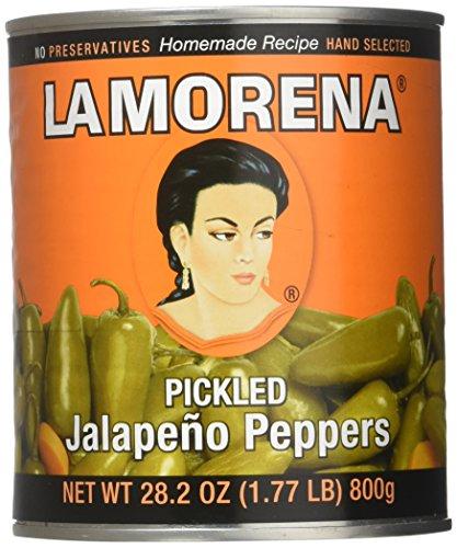 Whole Jalapenos (La Morena Whole Jalapeno, 28.2 oz)