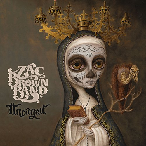 CD : Zac Brown Band - Uncaged (CD)